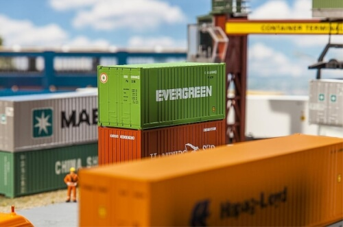 H0 20' Container EVERGREEN