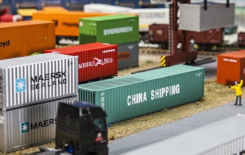 H0 40' Container CHINA SHIPPING