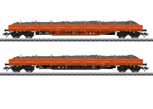Märklin 47099 H0 Niederbordwagenset Res AT